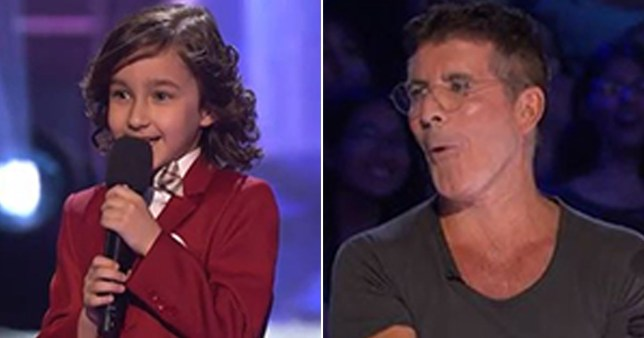 Simon Cowell rinsed by 7-year-old over freezing his body on America's Got Talent