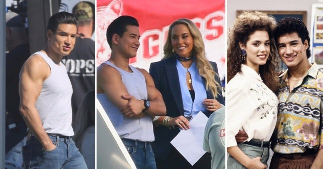 Saved By The Bell Reboot Sees Mario Lopez And Elizabeth Berkley