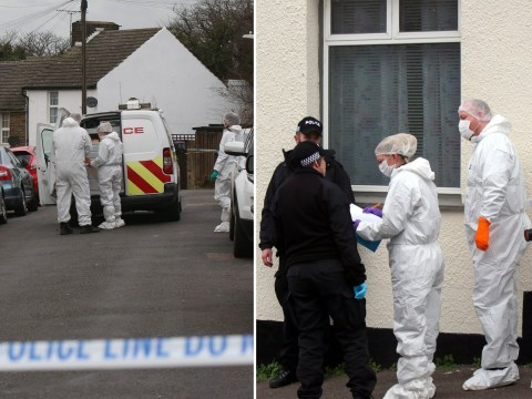 Murder investigation after man, 44, stabbed to death at his home in Kent