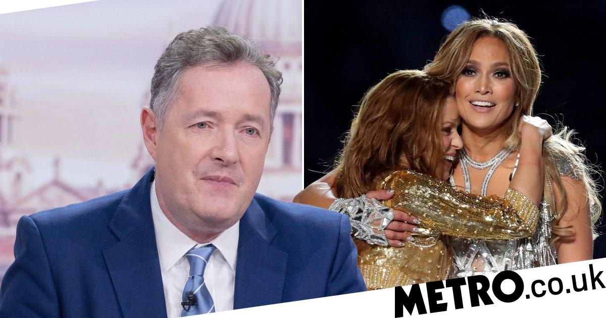 Piers Morgan slams Jennifer Lopez and Shakira's Super Bowl performance