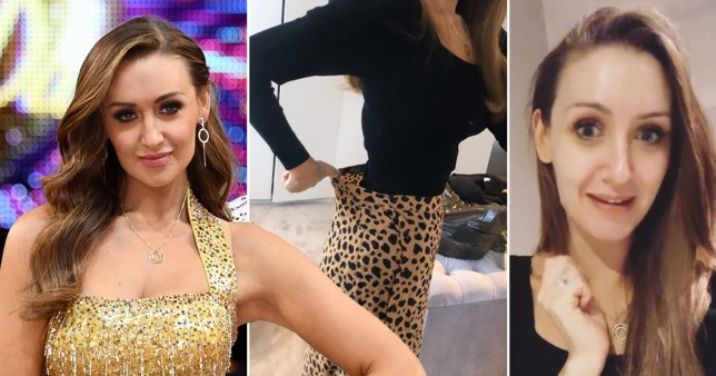 Catherine Tyldesley weight loss