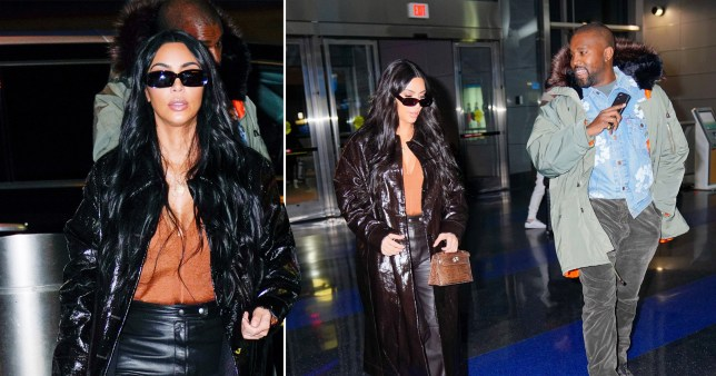 Kim Kardashian channels The Matrix with Kanye West after SKIMS launch