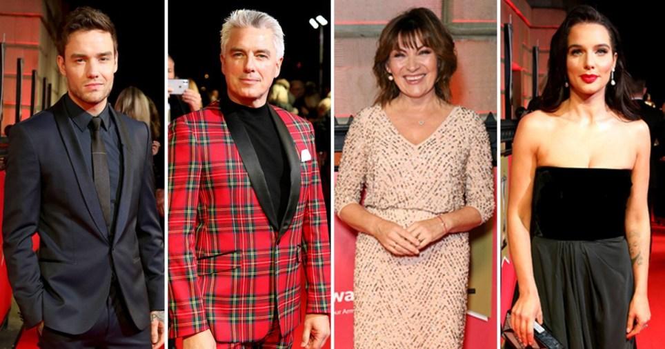 The Military Awards Liam Payne, John Barrowman, Lorraine Kelly, Helen Flanagan