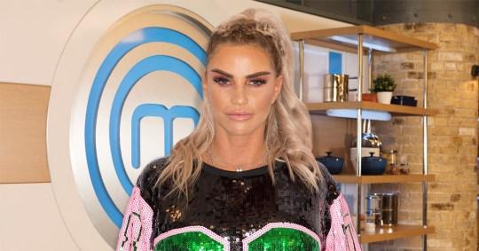 Katie Price in talks to join Celebrity Masterchef