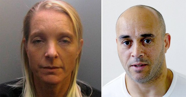 Former prison officer Stephanie Smithwhite has been jailed for two years for a relationship with gangster Curtis 'Cocky' Warren