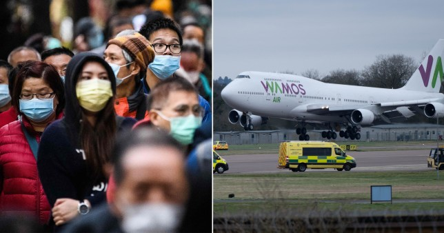 Brits to be quarantined in Milton Keynes