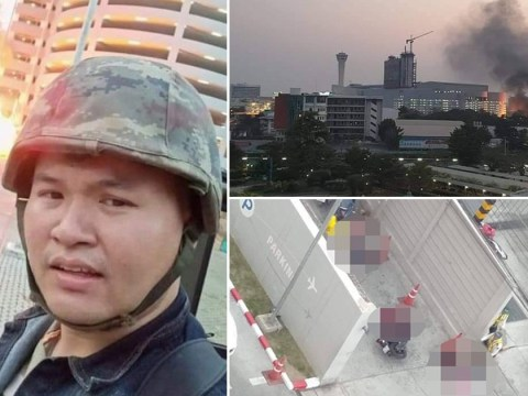 Soldier still at large 'with hostages' after killing at least 20 in Thai mall massacre