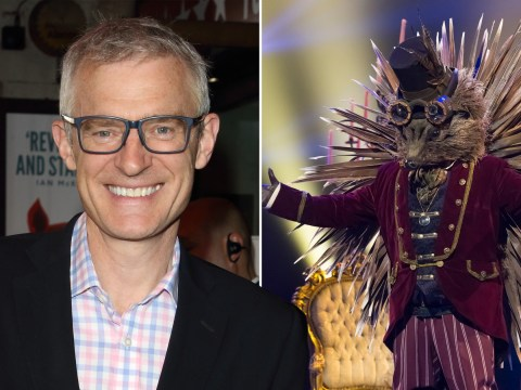 The Masked Singer UK: Jeremy Vine accidentally 'lets slip' he's Hedgehog in huge blunder: 'I can't wait to get out of that costume'