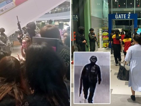 Hundreds freed from Thai mall as lone policeman sent in to track down shooter