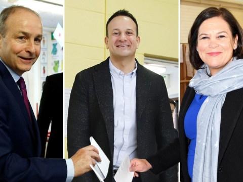 Shock exit poll predicts three-way-tie in Irish general election