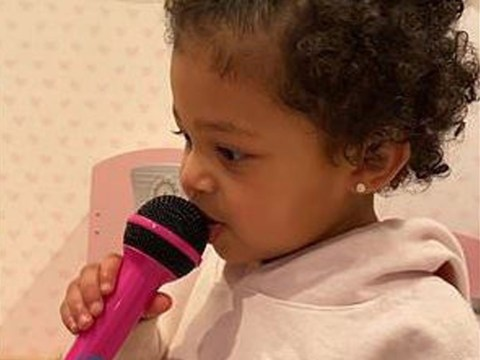 Stormi sings Kylie Jenner's Rise and Shine and it's never sounded more beautiful