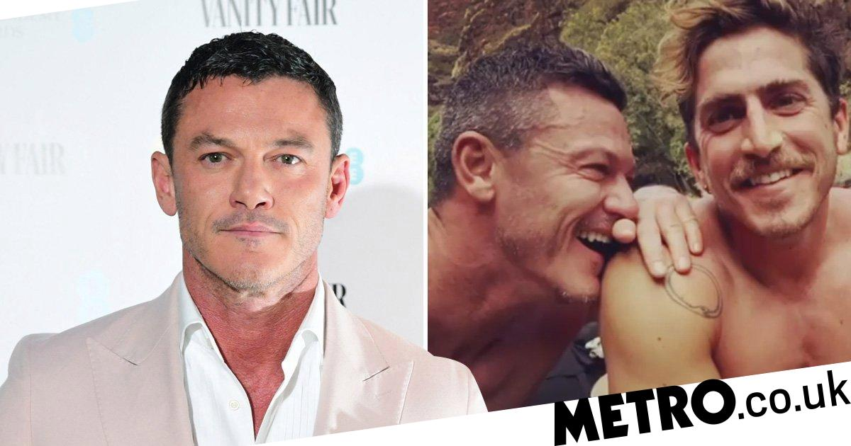 Luke Evans goes Instagram official with boyfriend Rafa Olarra