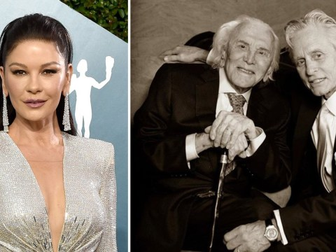 Catherine Zeta-Jones thanks fans for 'overwhelming love' following father-in-law Kirk Douglas' death