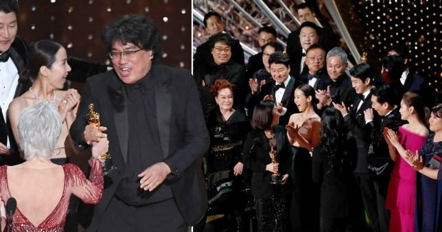 Bong Joon Ho Parasite Oscars 2020