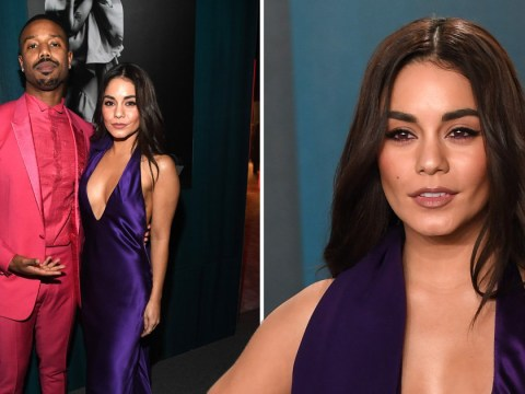 Vanessa Hudgens hangs with Michael B Jordan at Vanity Fair Oscars party and we are digging it
