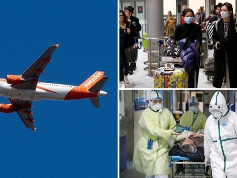 Coronavirus 'super spreader' took EasyJet flight back to UK