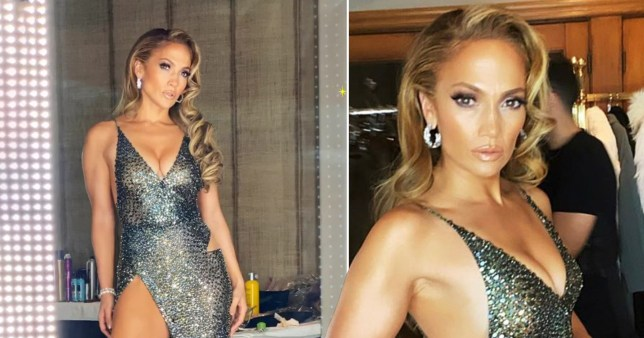 Jennifer Lopez Oscars party