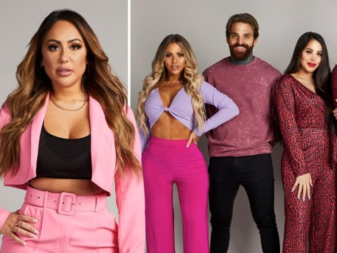 Sophie Kasaei is brushing off her break up by reuniting with her old co-stars for season two of Geordie OGs