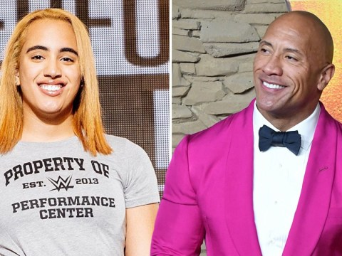 Dwayne Johnson's daughter Simone is following in his footsteps as she signs up as WWE's newest trainee