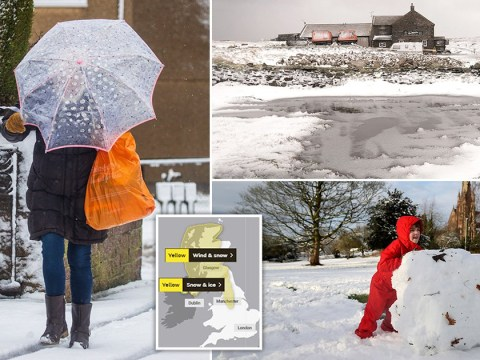 Blizzards replace Storm Ciara rain and wind with freezing snow and ice