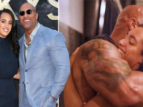 Dwayne Johnson 'proud' of daughter Simone as he congratulates her for signing WWE contract
