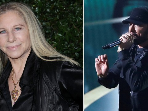 Barbra Streisand reveals she was 'looking forward' to presenting Eminem his Oscar award in 2003