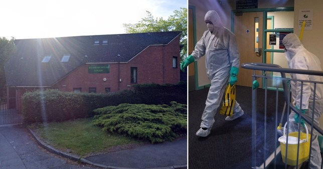 The Boundary House GP Surgery in Bracknell became the second UK GP to close due to coronavirus