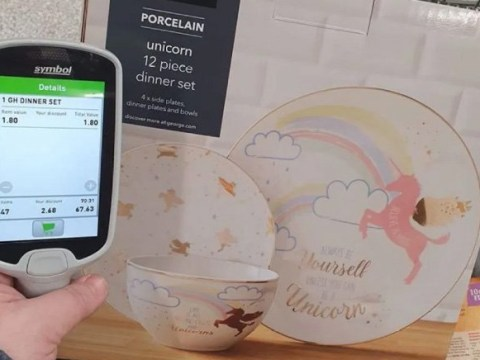 Asda shoppers go wild after supermarket reduces £25 unicorn dining set to £1.80
