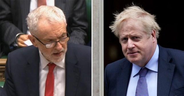 Corbyn vs Boris