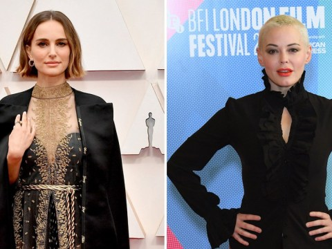 Rose McGowan calls out Natalie Portman for 'deeply offensive' Oscar dress covered with names of snubbed female directors