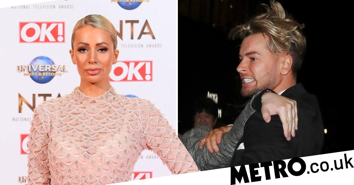 Olivia Attwood 'not surprised' by ex Chris Hughes' row at NTAs