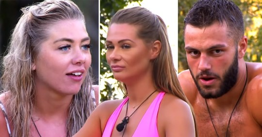 Love Island's Shaughna Phillips, Finley Tapp and Paige Turley