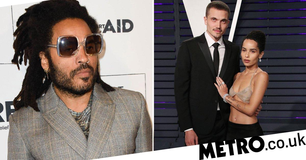 Lenny Kravitz's speech for Zoe Kravitz's wedding was so beautiful she cried