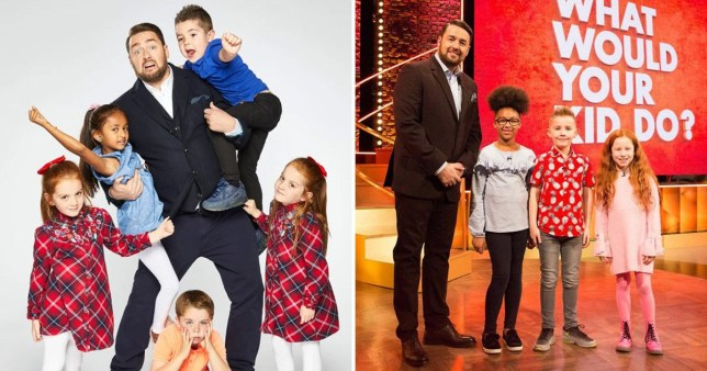 Jason Manford's show What Would Your Kid Do?