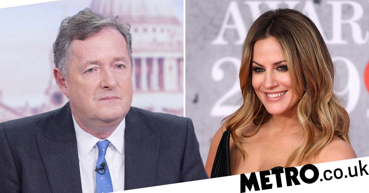 Piers Morgan pays tribute to 'fun, bright & sparky' Caroline Flack after death
