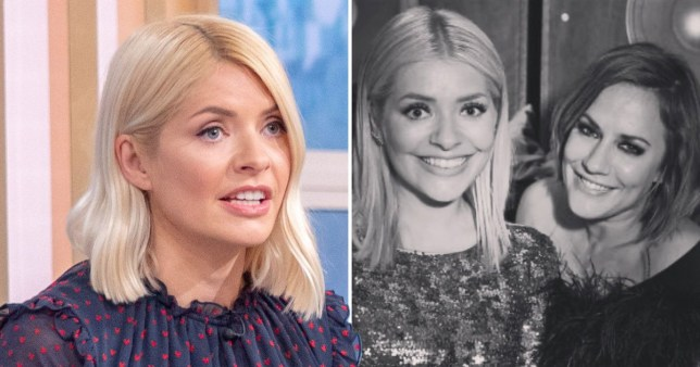 Holly Willoughby Caroline Flack