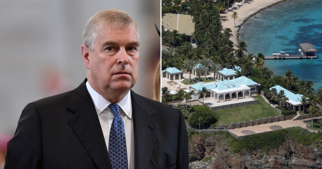 Prince Andrew allegedly 'openly groped girls' on Jeffrey Epstein's private island