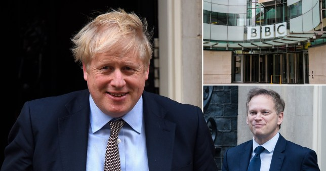 Boris Johnson, the BBC and Grant Shapps