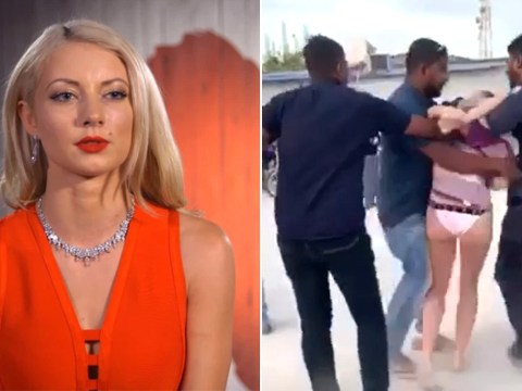 First Dates star 'thought she was being abducted' as she was dragged across beach by Maldives Police