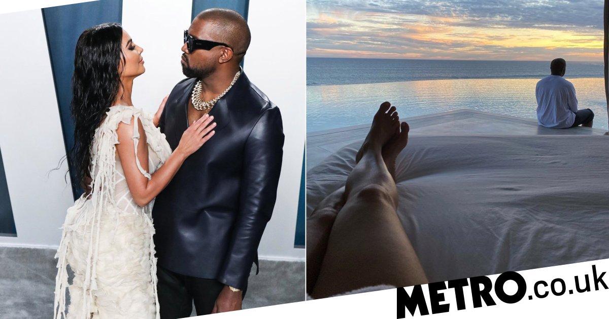 Kanye West whisks Kim Kardashian away on surprise holiday for Valentine's Day