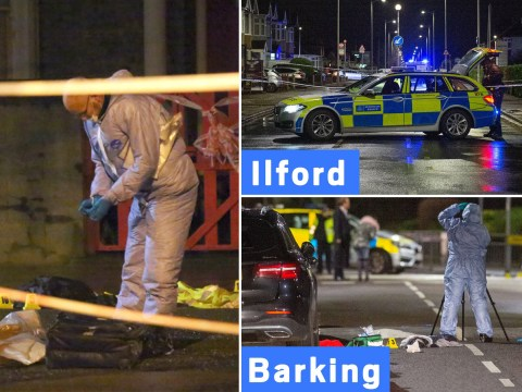 Four stabbed in space of just two hours across London