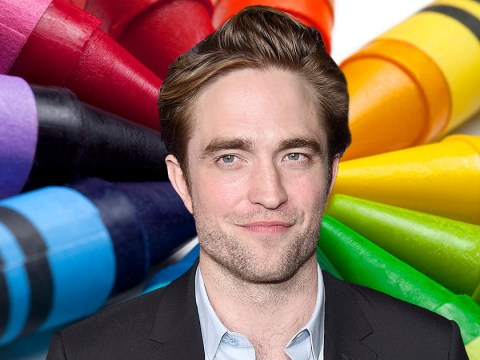 Robert Pattinson reckons he smells like a crayon and we're baffled