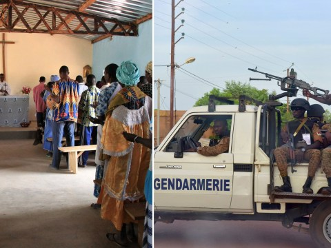 Church shooting leaves 24 dead and three kidnapped in Burkina Faso