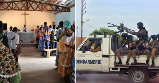 24 dead in Burkina Fasso church shooting
