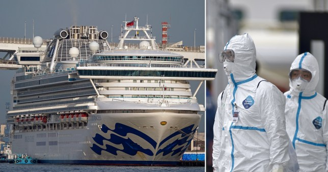 Brits could finally be evacuated from coronavirus ship with 454 confirmed cases