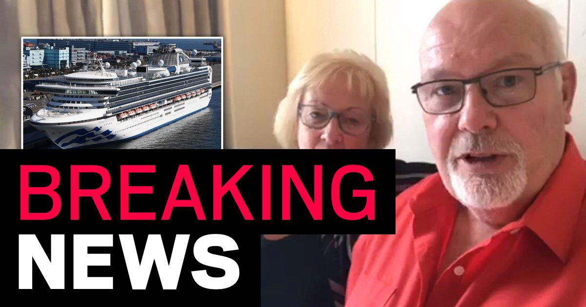 Cruise ship couple confirmed to have coronavirus