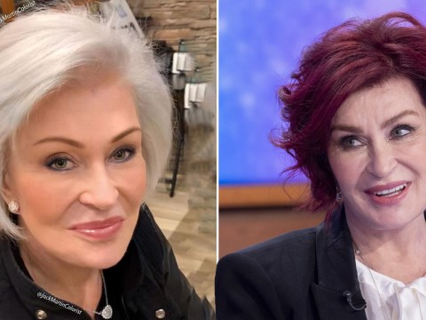 Sharon Osbourne debuts gorgeous white hair after dyeing it red for 18 years