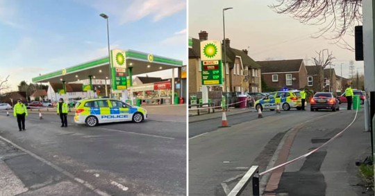 A woman is in a serious condition after being 'deliberately knocked down' by a driver after a row