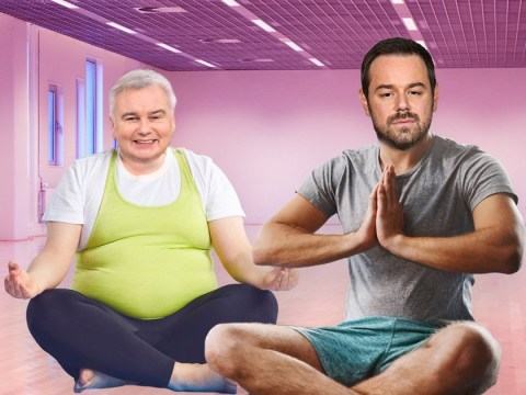 Danny Dyer invites Eamonn Holmes to try hot yoga after stressful EastEnders 35th anniversary filming