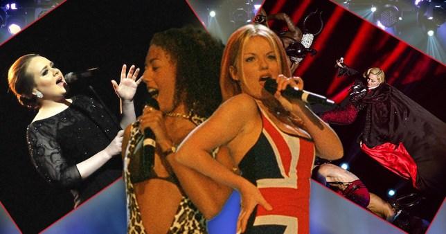 Brits best performances